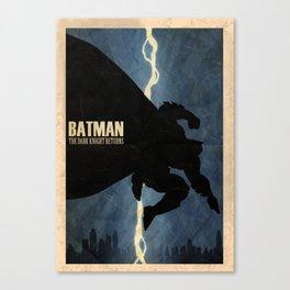 Return of the Bat Canvas Print