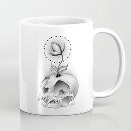 Skull Flower Coffee Mug