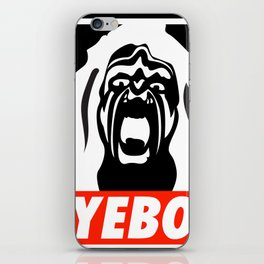 YEBO WARRIOR iPhone Skin