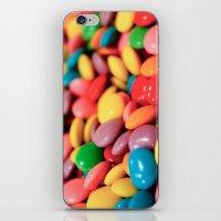confetti iPhone & iPod Skins featuring Confetti by Studio Laura Campanella