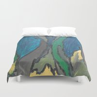 camo Duvet Covers featuring Camo by Kristin Rodgers