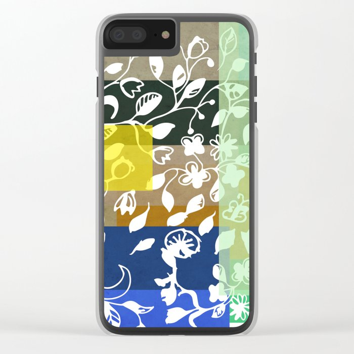 Unconventional lace Clear iPhone Case