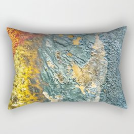 Colorful Abstract Texture Rectangular Pillow