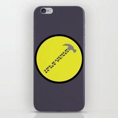 Captain Hammer iPhone & iPod Skin