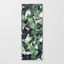 Martinique Low Poly Canvas Print