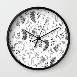 FERN PRINT Wall Clock