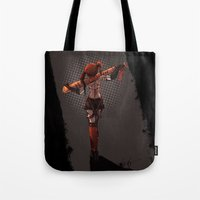 harley Tote Bags featuring Harley! by Katia Grifols