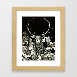 Becoming The Beast  Framed Art Print