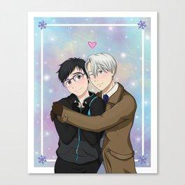 Victuuri Hug Canvas Print