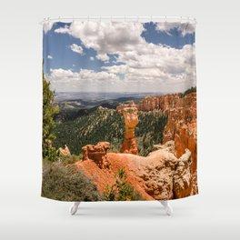 Agua Canyon at Bryce Canyon National Park Shower Curtain