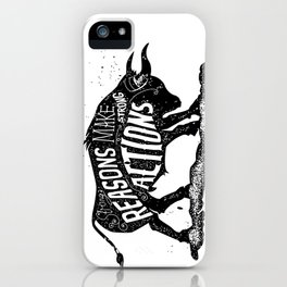 Lettering iPhone Case