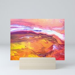 Red Hot Desert Mini Art Print