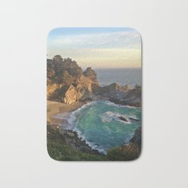 Big Sur Sunset Bath Mat