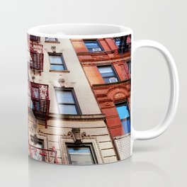 Fancy Red Fire Escape Coffee Mug