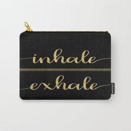Inhale Greatness Carry-All Pouch
