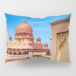 Putra Mosque Malaysia Pillow Sham
