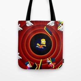 Simpsons Pop Art Tote Bag