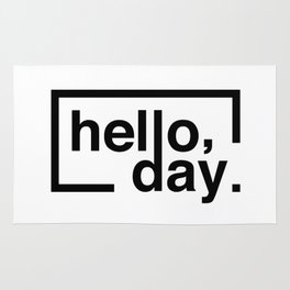 Hello Day Rug