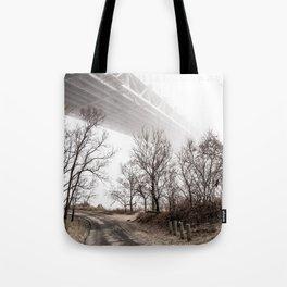 Verrazano Bridge: Into the Fog Tote Bag
