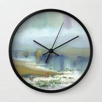 heaven Wall Clocks featuring Heaven by Ivanushka Tzepesh
