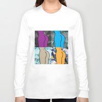 booty Long Sleeve T-shirts featuring Booty-ful  by MischievousDesign