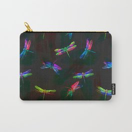 fly fly dragonfly i Carry-All Pouch