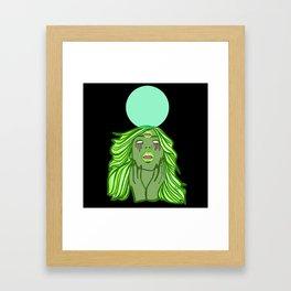 MIND MELT Framed Art Print