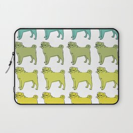 Smug pug club. Laptop Sleeve