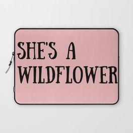 She's A Wildflower Laptop Sleeve