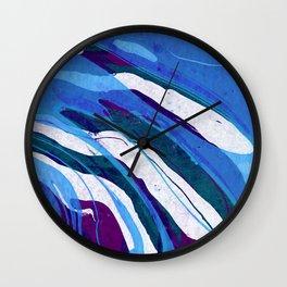 Abstract watercolor painting Wall Clock
