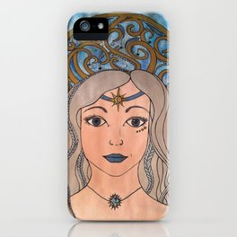 Keeper of the night sky iPhone Case
