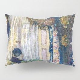 Edouard Vuillard - Mrs. Hessel At Her Window - Digital Remastered Edition Pillow Sham