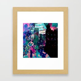 Dame From Buxom Street Framed Art Print