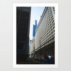 Sears Tower II Art Print