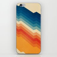 old iPhone & iPod Skins featuring Barricade by Tracie Andrews
