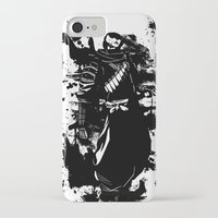ninja iPhone & iPod Cases featuring Ninja by KawaINDEX