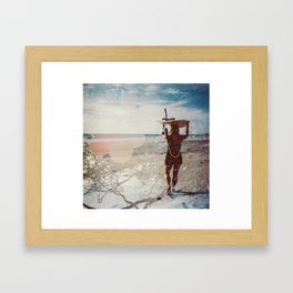 avellanas Framed Art Print