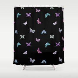 holiday, butterfly, jewels, precious, butterflies, new year, thanksgiving, Christmas, holidays, 2018 Shower Curtain