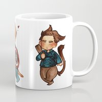 onward Mugs featuring onward to adventure! by noCek