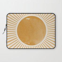 Sunshine Yellow Art Laptop Sleeve