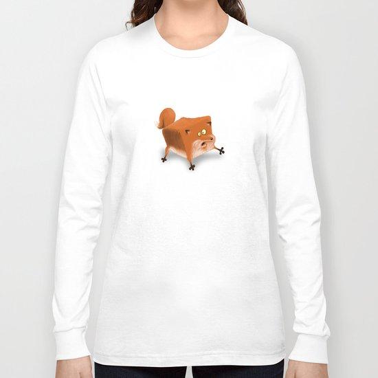 Box in a Fox Long Sleeve T-shirt