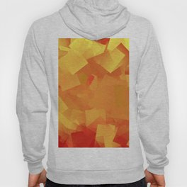 Cubism in orange Hoody