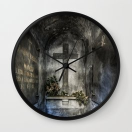 Inside The Crypt Wall Clock