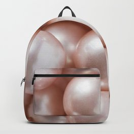Blush Pink Pearls Backpack