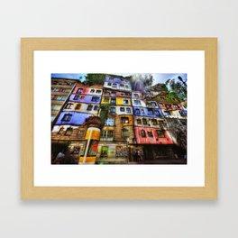 The Color Field Framed Art Print