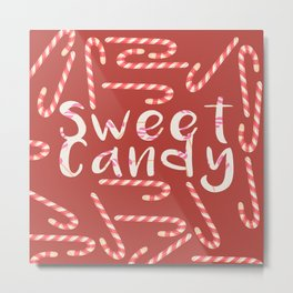 Love Sweet Candy Metal Print