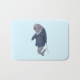 Animals in Suits - Porpoise Bath Mat