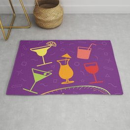 Happy Hour Cocktail Rug