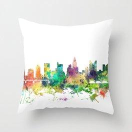 Columbus, Ohio skyline SP Throw Pillow