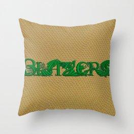 Blazers Throw Pillow